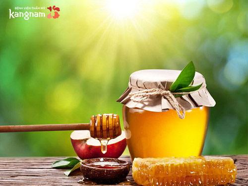cách trị sẹo lồi bằng mật ong
