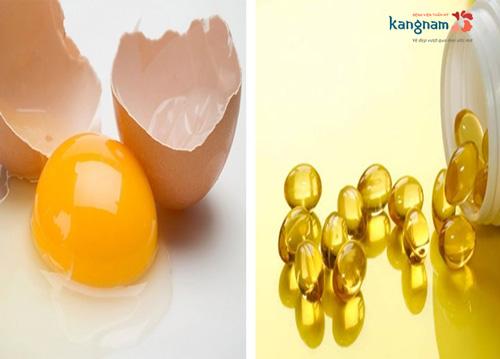 trị sẹo lồi bằng vitamin e