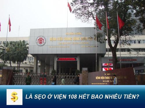 bệnh viện 108 khoa thẩm mỹ laser