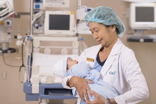 sinh con ở bệnh viện quốc tế city