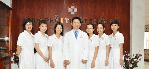 khoa phẫu thuật thẩm mỹ bệnh viện hồng đức